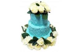 Заказать свадебный торт со сливками в СПб